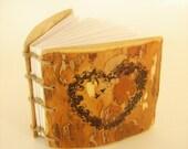 WEDDING RUSTIC GUEST Book in handmade Unique Gift Idea - Rustic Guest Book - Wedding Guest Book custom rustic journal - wooden guestbook