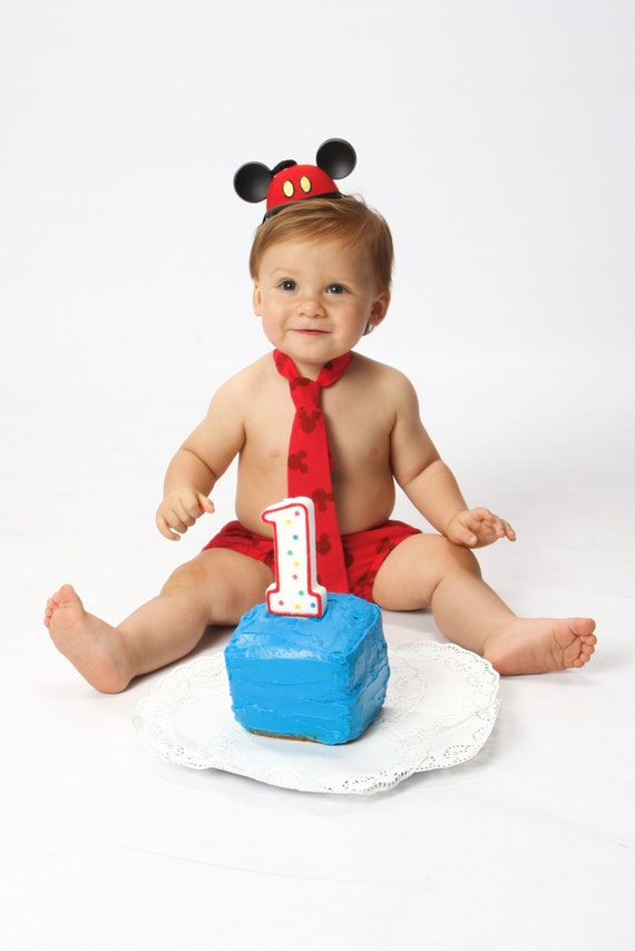 Baby Mickey Mouse Smash Cake Outfit