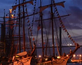 Boats in Savannah Harbor