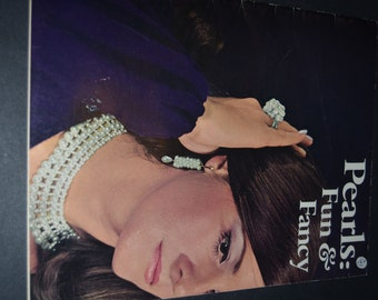 Vintage 70s Pearls Fun and Fancy Jewlery-Beading instruction Book