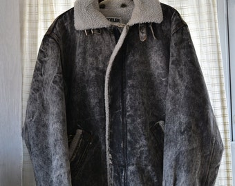 Double Fleece Coat Etsy