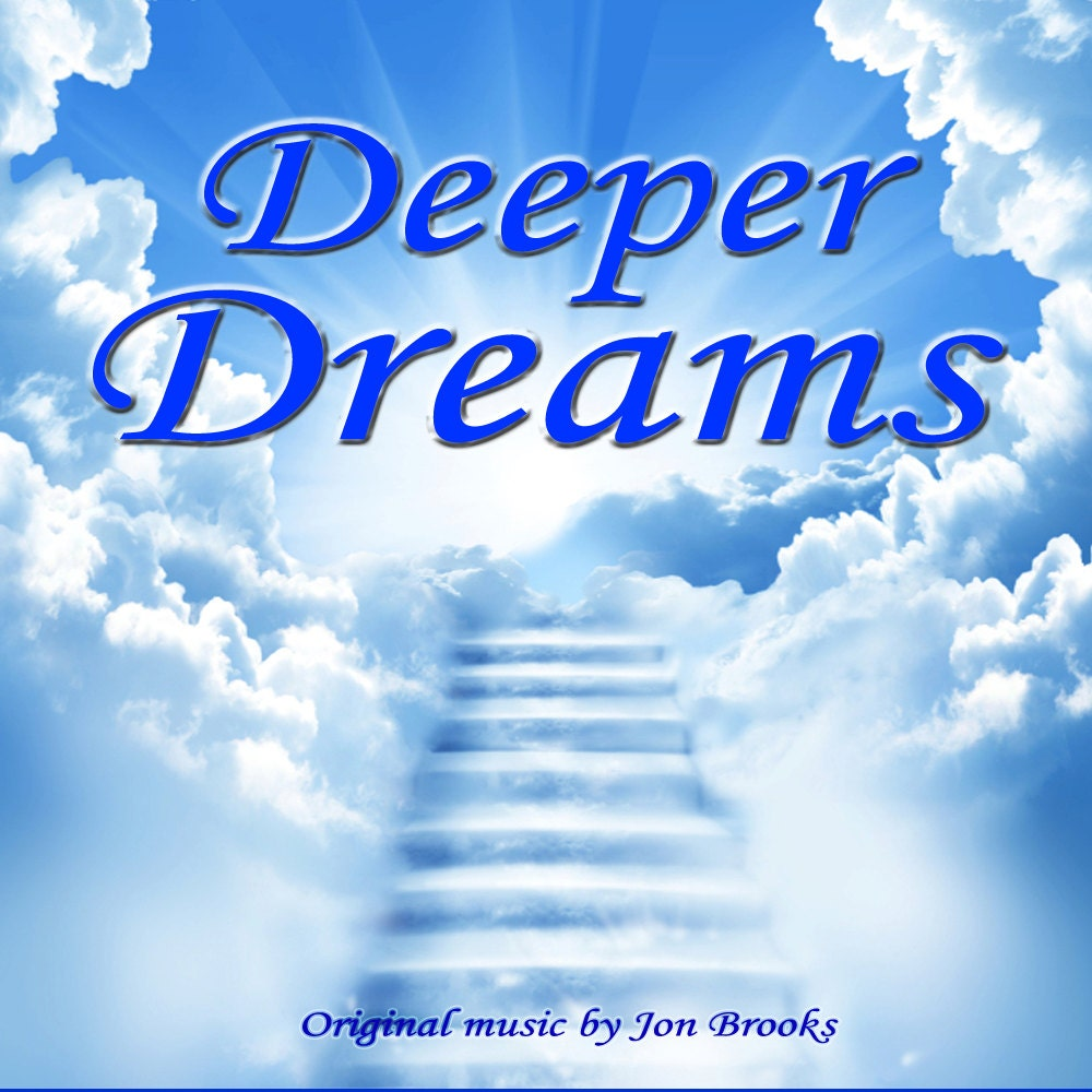 Stress Dreams: Relaxing Music CD Album Deeper Dreams For Stress