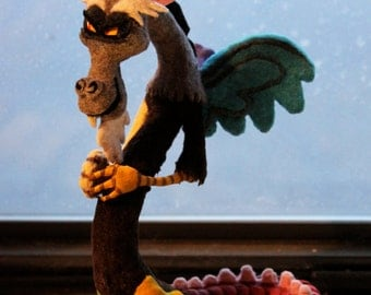 Handmade Sculpture inspired by Discord from My Little Pony: Friendship is Magic
