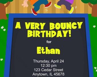 trampolin-party-einladung druckbare geburtstag einladung für