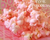 Gourmet Old Fashioned Pink Popcorn