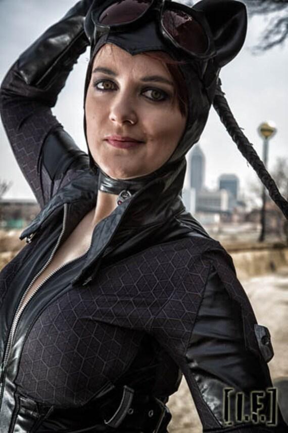 sc 1 st  Etsy & Arkham City Catwoman Custom Fabric Image Digital File Only