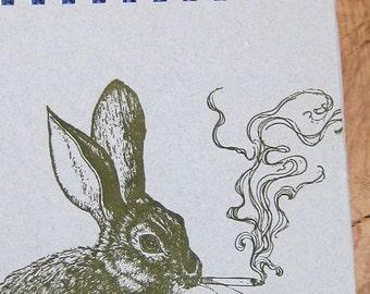 Smoking Rabbit Notebook
