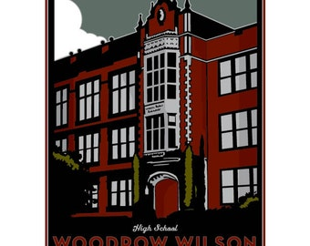 Woodrow Wilson Framed Art Print