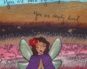 Print : Held by Angels #30-P