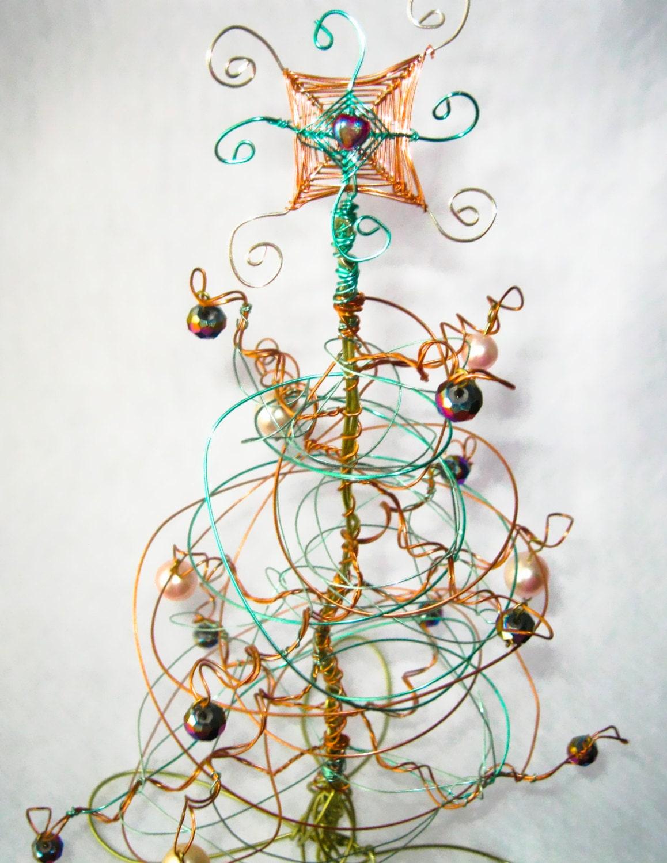 weihnachtsbaum metall weihnachtsbaum draht baum herzst ck. Black Bedroom Furniture Sets. Home Design Ideas