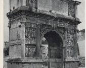 photo of Italian Arch, Benevento Arch in Italy, BW photo decor