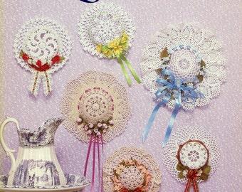 Doilies to Crochet for LITTLE HATS - American School of Needlework 1037 Mary Thomas 1985 Thread Crochet
