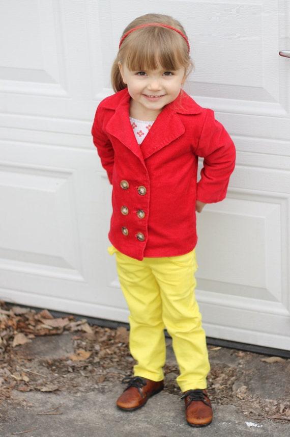 Olivia and Oliver Pea Coat: Boys Pea Coat Pattern, Girls Pea Coat Pattern, Baby & Toddler Coat Pattern