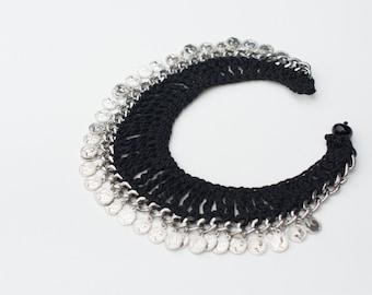 Gypsy coin necklace