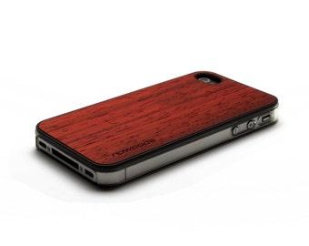 iPhone 4 Case Wood Padauk, Wood iPhone 4S Case Wood iPhone 4 Case, iPhone 4 Wood Case, iPhone 4S Wood Case, iPhone Case