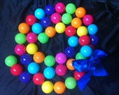 Ball Garland -Assorted Colors
