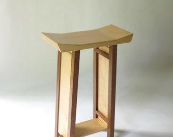 Bar Stool  Modern Zen Wood Bar Furniture- Handmade Custom Furniture Kitchen Bar Stools & Bar stool | Etsy islam-shia.org