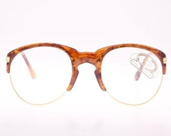 Derapage OM handmade in Italy Beyoncè gift to Jay-Z sunglasses eyeglasses frames, NOS 1980s