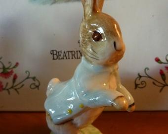 Vintage Beatrix Potter PETER RABBIT Figurine 1989 Royal Albert England
