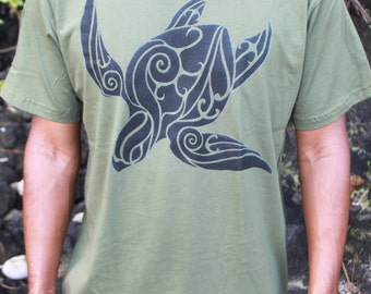 Turtle t shirt etsy for Water based t shirt printing