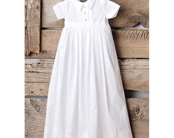 Caleb Baby Boy's Discount Christening or Baptism Gown for Baby Boy's