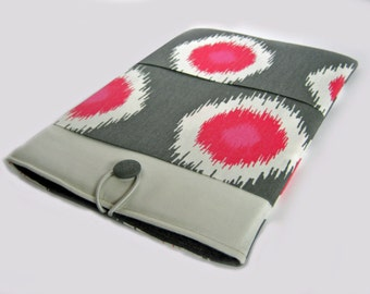 Macbook Air Sleeve, Macbook Air Cover, 11 inch Macbook Air Case, 11 Inch Macbook Air Cover, Laptop Sleeve, Pink Dots