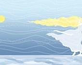 "8x10 East of the Sun ""Ice Princess"" art print - signed"
