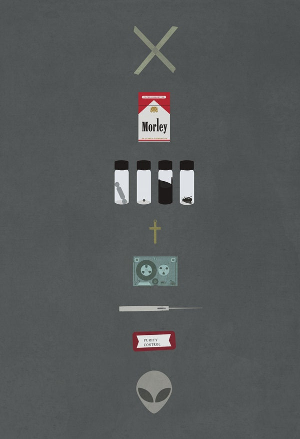 X-Files 8x10 11x17 or ...X Files Poster