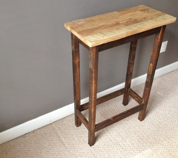Make A Reclaimed Wood Coffee Table: Coffee Table Entry End Side Table Made From Reclaimed Barn