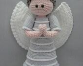 Guardian Angel (Instant download Amigurumi doll crochet pattern pdf)