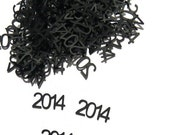 2014 Confetti - New Years Eve Party - Graduation Party - Baby Shower - Wedding Decor - 100 Pieces - CoolestCuts