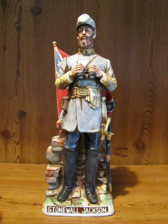 Stonewall Jackson Whiskey Decanter By Mccormick By Thegypsyshed