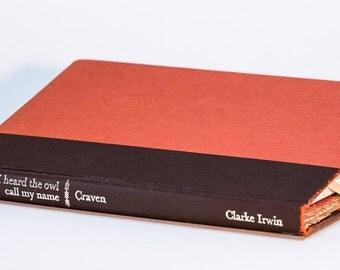 Orange and Brown Kindle Kobo eReader Book Cover Case