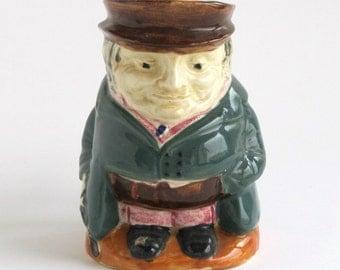 Occupied Japan Toby Jug - Green Coat
