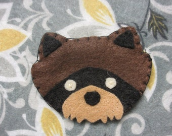 Wes Anderson Moonrise Kingdom Khaki Scout Patch - Raccoons, Red Pandas, and Foxes