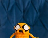"Crochet Pattern of Jake the Dog from ""Adventure Time"" (Amigurumi tutorial PDF file)"