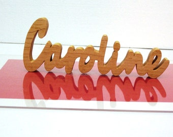 Personalized Name Sign, Wooden Name Sign, Personalized Teacher Desk Name Display