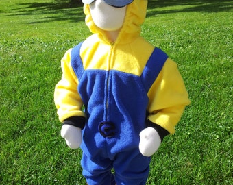 Custom Minion Costume With Goggles