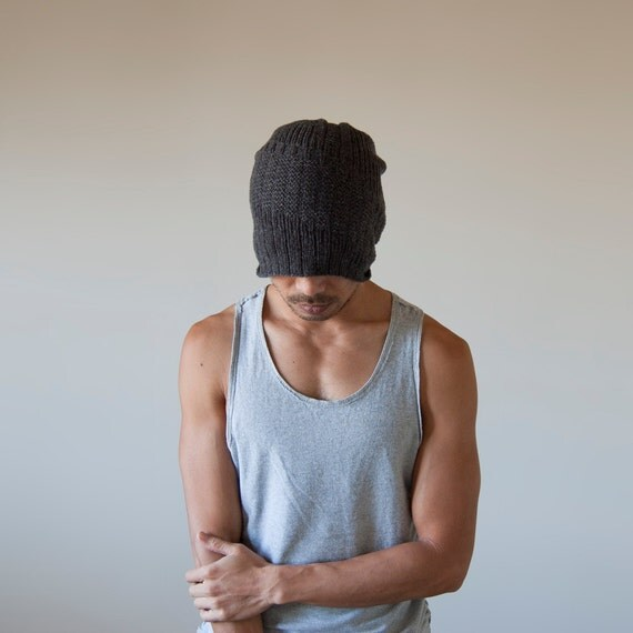 Knitted Mens Hat - Shear Charlie
