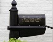 Mailbox Decal - Name Decal - Mailbox Decoration - Personalized Mailbox Decal - Personalized Decals