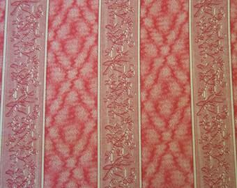 Windham Fabrics Presents Colonies Pink & Blue III circa 1830-1860 #22373, 1 yard C38P