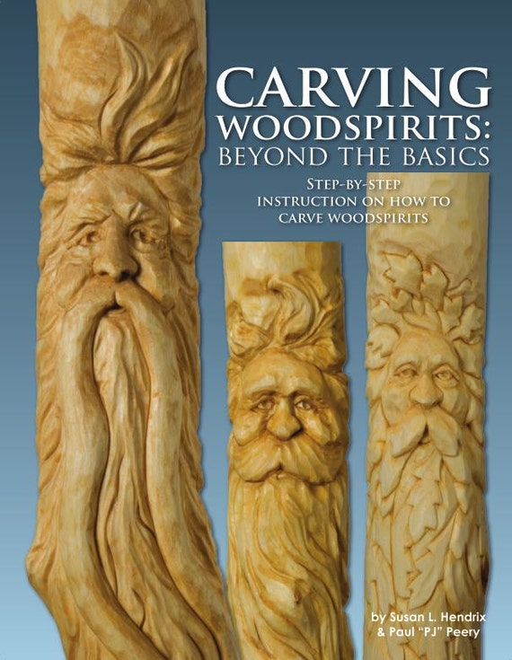 Woodcarving book new carving woodspirits beyond the