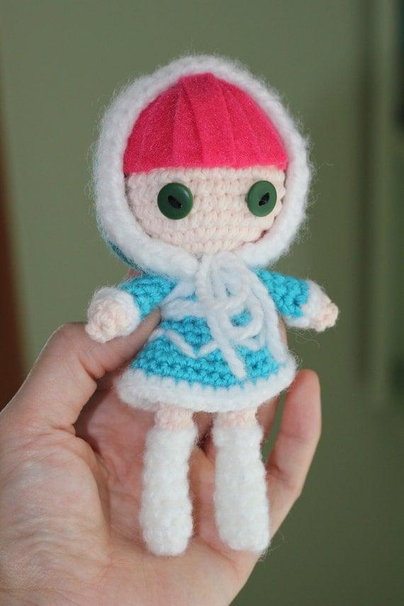 Amigurumi Klesik Doll : PATTERN: Frostfire Annie Crochet Amigurumi Doll