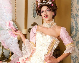 Marie Antoinette Costume        International Shipping by request