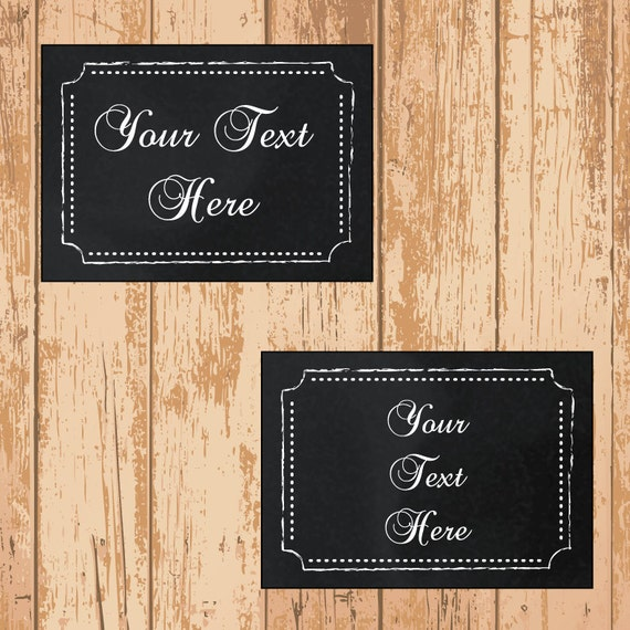 Chalkboard labels editable printable pdf instant download by sos printables catch my party for Chalkboard labels printable