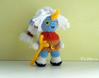 Undertale Amigurumi Pattern : Aurora crochet pattern