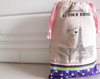 LA TOUR EIFFEL Drawstring Bag