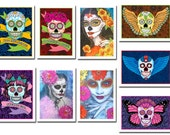 Day of the Dead Postcard 9-Pack