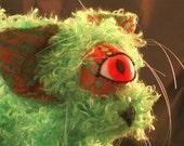Custom Fantasy Plush Magic Cat  The Boogaloo HexCat  plush magic cat
