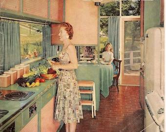 Household Magazine September 1956 - Vintage